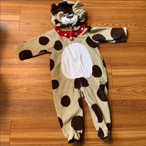 Carter Puppy Dog Outfit / Sleeper